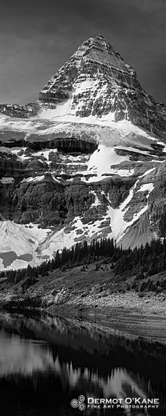 Mount Assiniboine - Panoramic Vertical Images