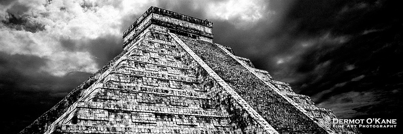 Chichen Itza, Mexico - Panoramic Horizontal Images
