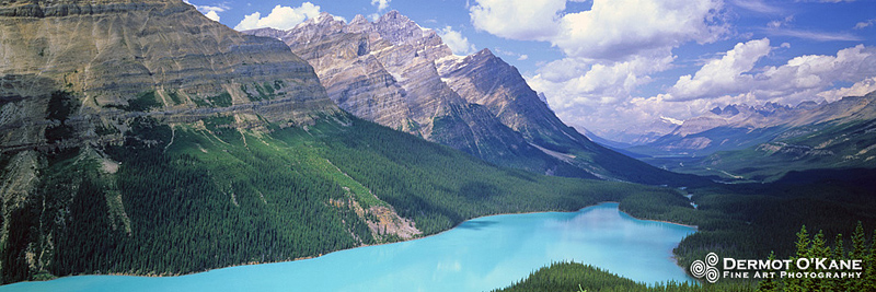 Peyto Lake - Panoramic Horizontal Images