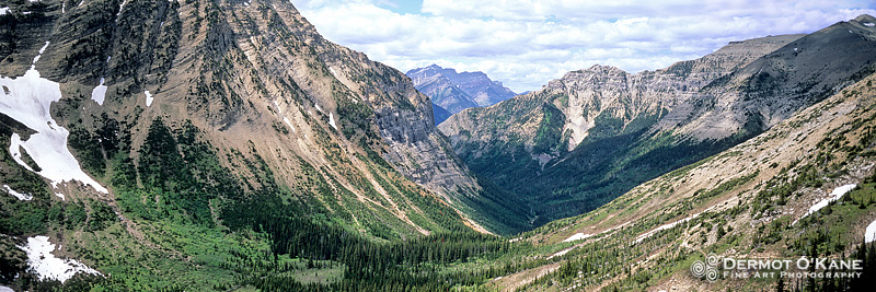 Hell Roaring Valley, Waterton - Panoramic Horizontal Images