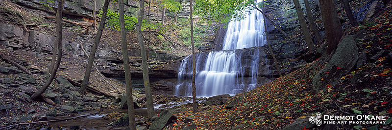 Sherman Falls - Panoramic Horizontal Images