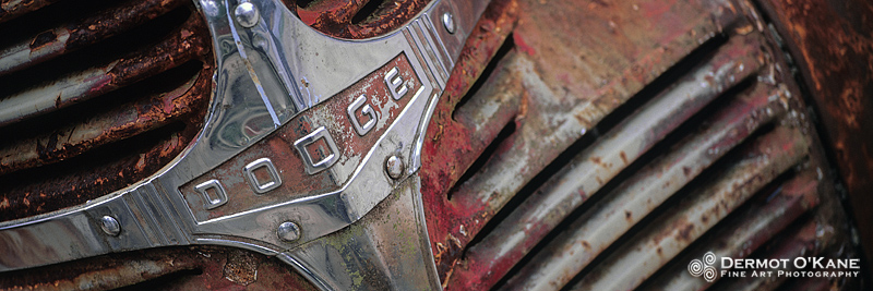 Rusty Dodge - Panoramic Horizontal Images