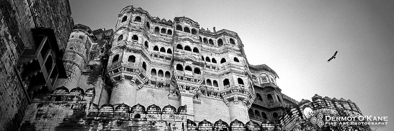 Mehrangarh Fort, Jodhpur - Panoramic Horizontal Images