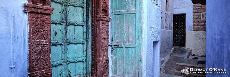 Doors of Jodhpur - Panoramic Horizontal Images
