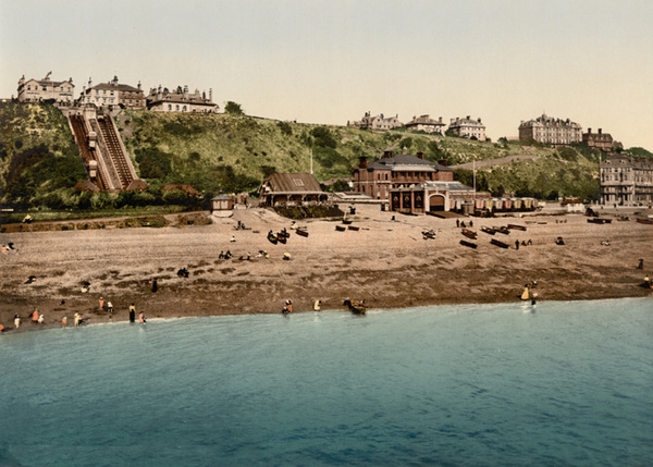 Folkestone West Cliff 8 - Old Photos of Folkestone