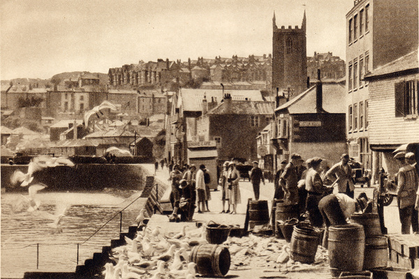 St Ives Harbour 6 - Old Photos of St Ives