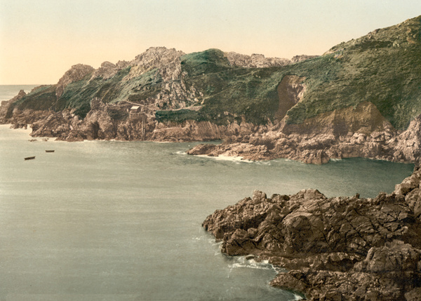 Guernsey La Maye Point 1 - Old Photos of Guernsey