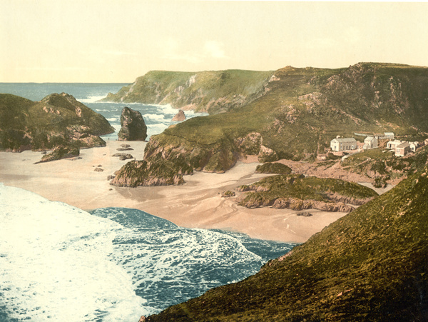 Kynance Cove 2 - Miscellaneous Old Photos of Cornwall