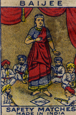 Matchbox India 92 - Old Matchbox Labels