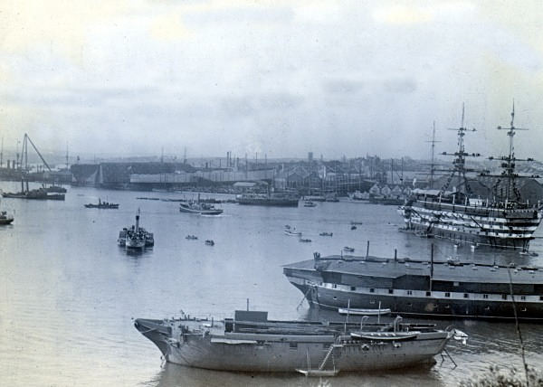 Plymouth Dockyard 62 - Old Photos of Plymouth