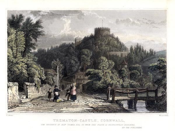 Saltash Trematon Castle 6 - Old Photos of Saltash