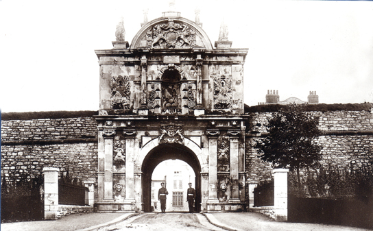 Royal Citadel Gate 72 - Old Photos of Plymouth