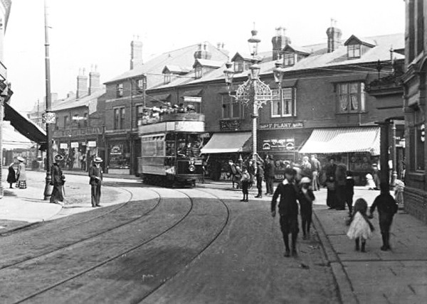 Normanton Road The Five Lamps 83 - Old Photos of Derby