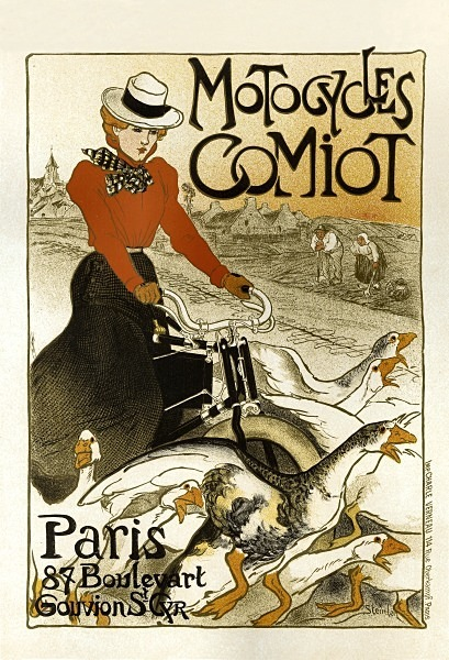 Motocycles 47 - FRENCH POSTERS