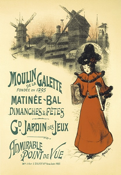 Moulin Galette 48 - FRENCH POSTERS
