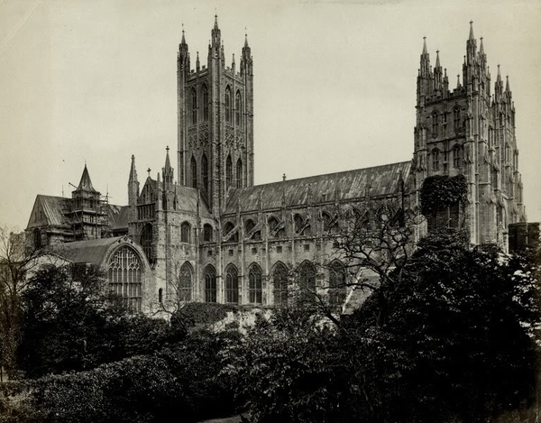Canterbury Cathedral Kent 3 - Old Photos of Canterbury