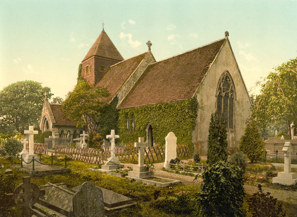 Hastings Hollington Church 6 - Old Photos of Hastings