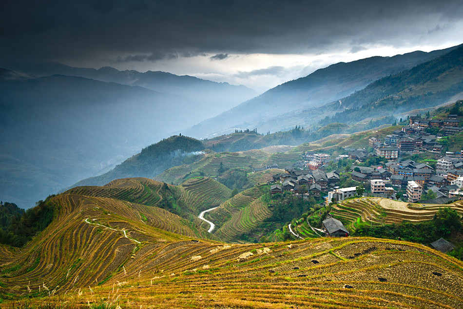 Longji rice terraces - China, Guangxi Province