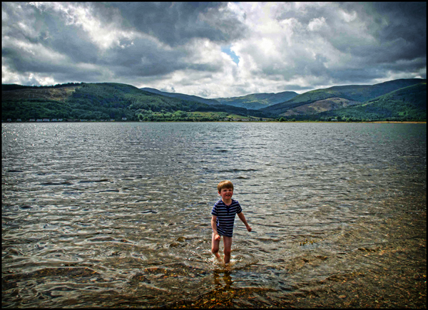 Henry at Holy Loch - Aug 2014 - Odds 'n Sods