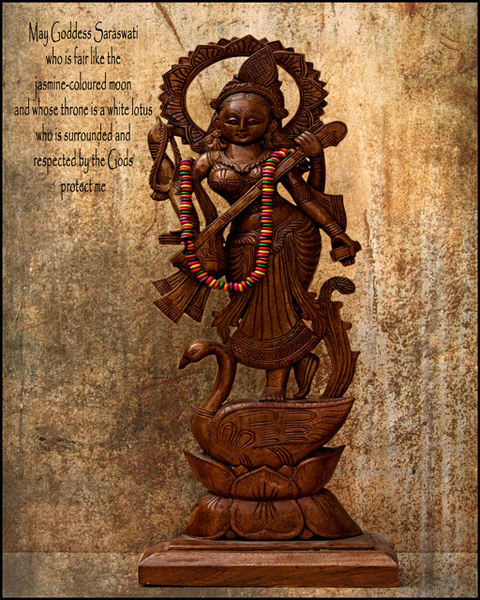 God Series: Saraswati - Experimental Work