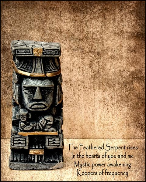 Gods Series: Quetzalcoatl - Experimental Work