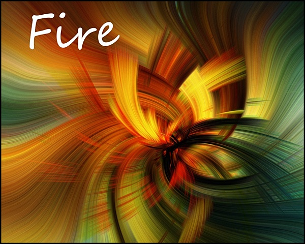 Four Elements: Fire - Experimental Work