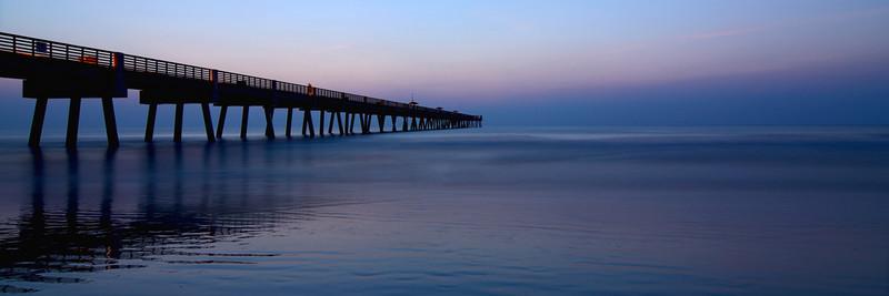 Jacksonville Beach Pier - Panorama No.3 - Panoramas