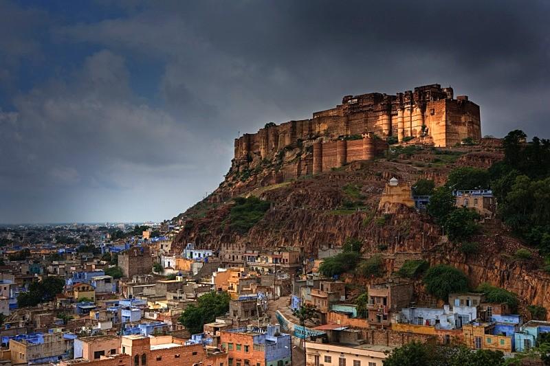 Mehrangarh Fort - Fort In Jodhapur - Rajasthan About