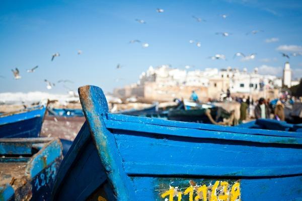 The Blue Boat, Essaouira (7102) - Morocco