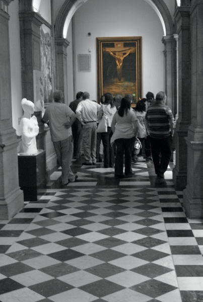Dali's Christ of St John - Glasgow Gallery