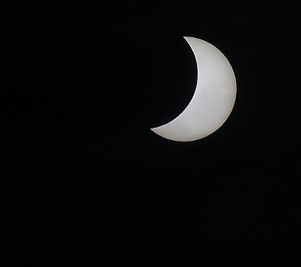 Partial Solar Eclipse 2015 - Eclipse