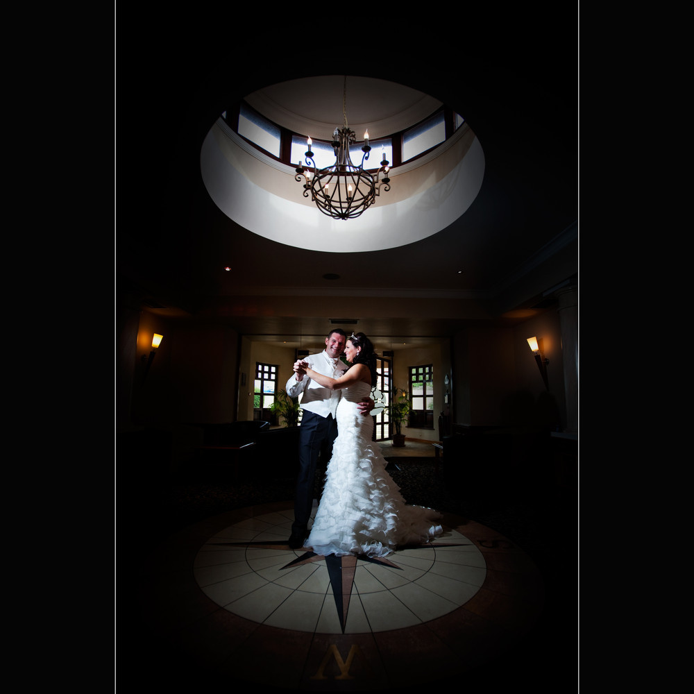 Bride & Groom First Dance at Bryn Meadows - Wedding Photography at Bryn Meadows Golf & Country Club