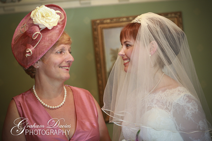 Mother of the Bride & Bride getting ready  wedding at St. Hilary - Wedding Photography at St. Hilary