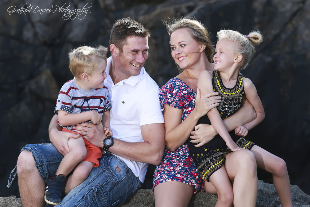 Family Portrait Shoot at Southerndown Beach - Family Portraits