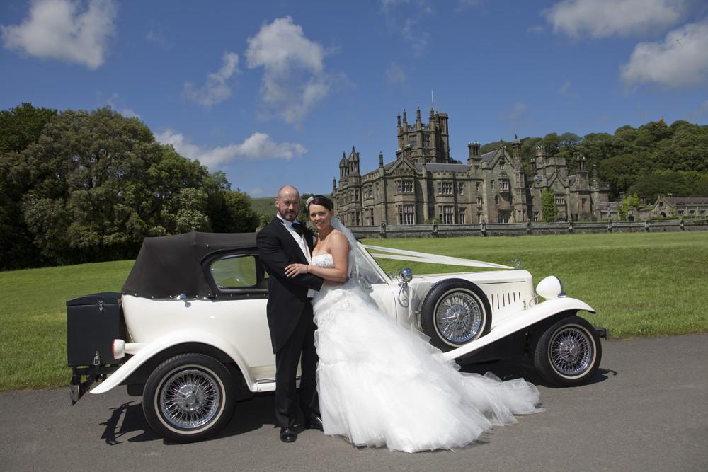 Bride & Groom at Margam Orangery - Wedding Photography at Margam Orangery