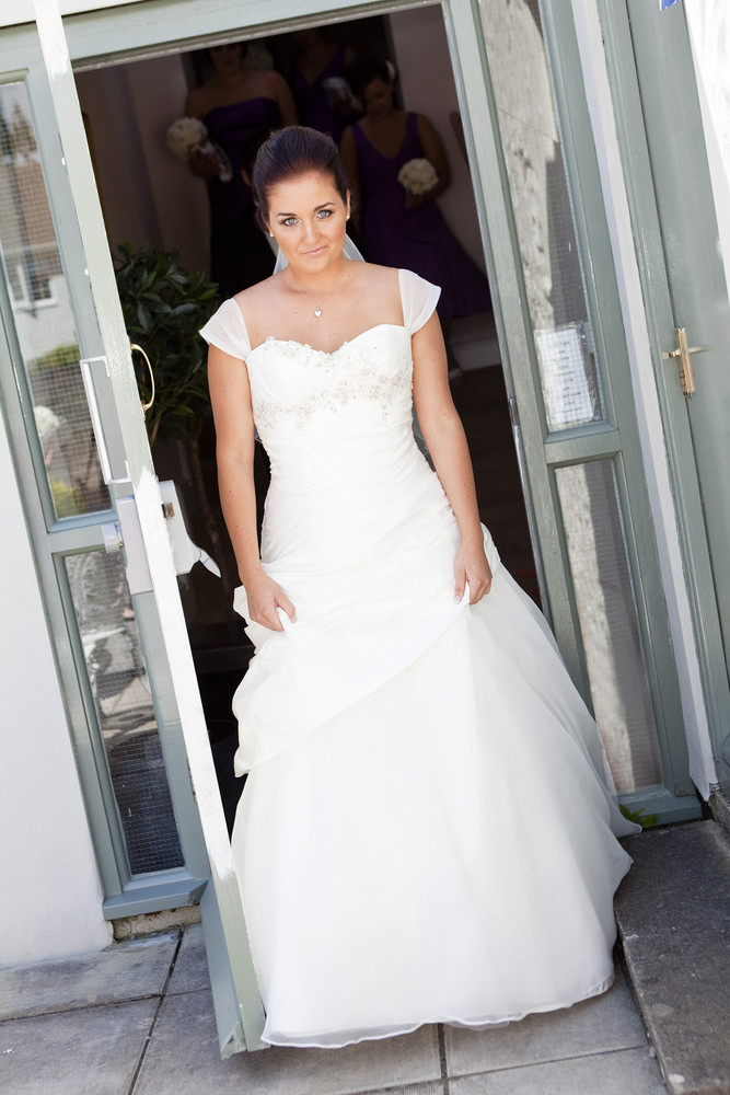 Bride at Bear Hotel, Cowbridge - Wedding Photography at The Bear Hotel, Cowbridge