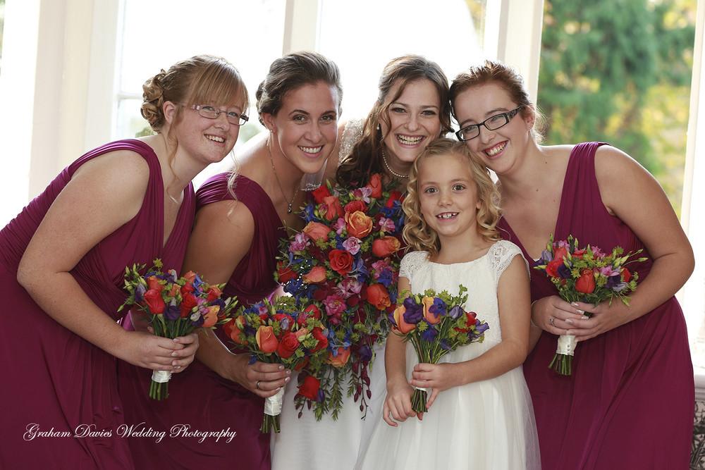 - Wedding Photography at Coed y Mwstwr Hotel