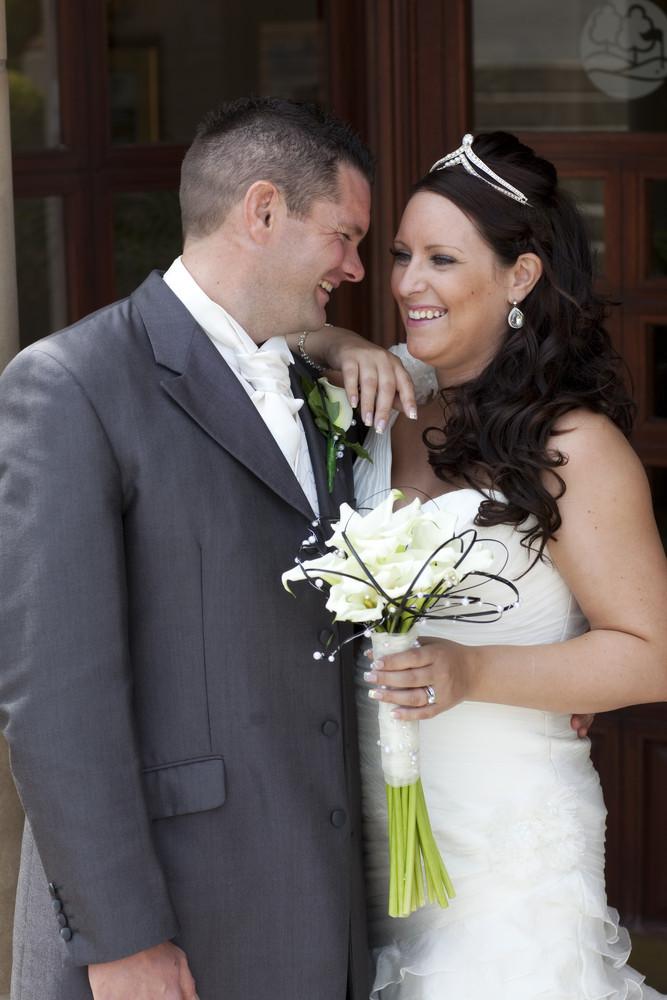 Bride & Groom at Bryn Meadows - Wedding Photography at Bryn Meadows Golf & Country Club