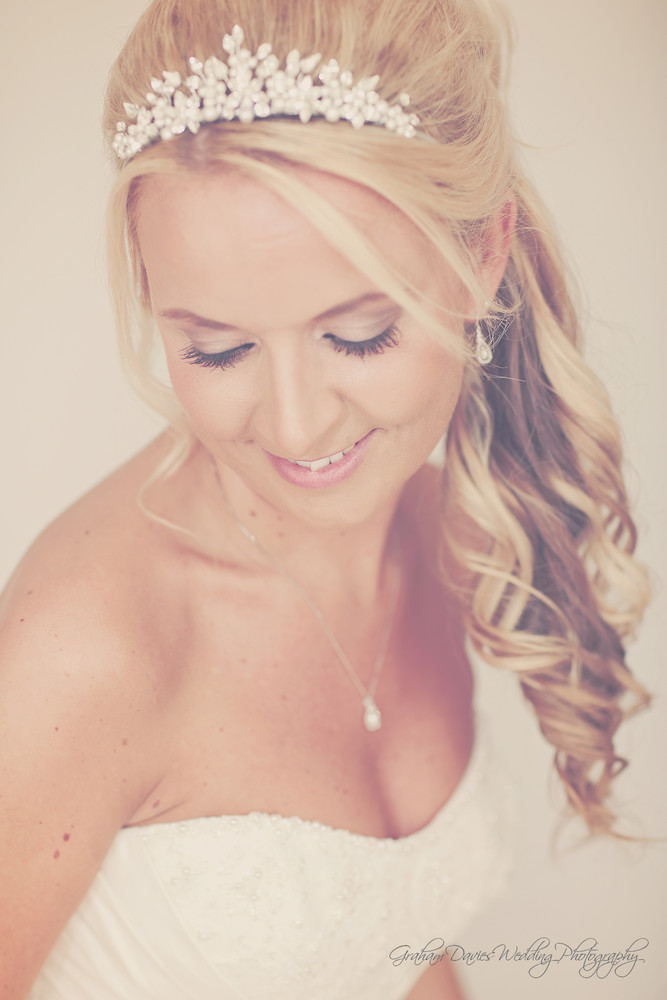 Miskin Manor Bride getting ready - Wedding Photography at Miskin Manor