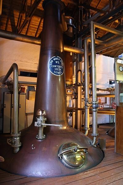 Bruichladdich still - Whisky