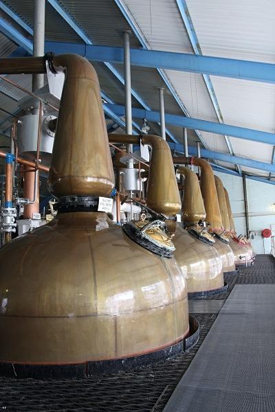 Stills at Laphroaig - Whisky
