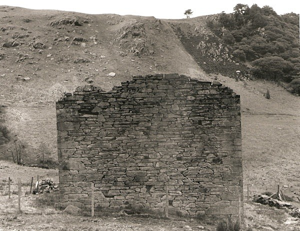 MINES at CWM ELAN MINE, Elan Valley, Rhayader, Radnorshire 2010 - OTHER WELSH RUINS
