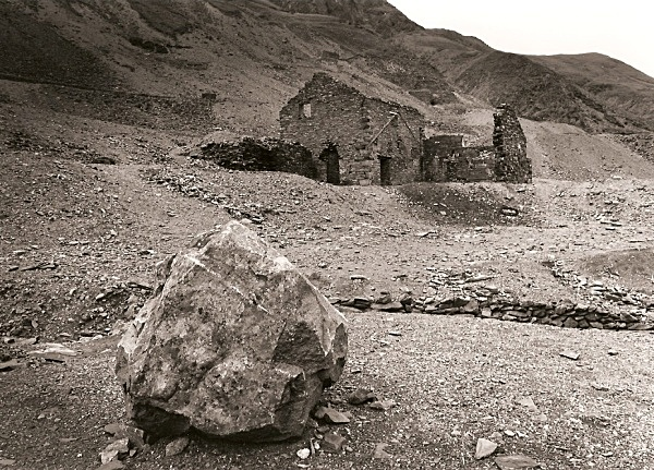 CWMYSTWYTH LEAD MINES, Ceredigion 1993 - OTHER WELSH RUINS