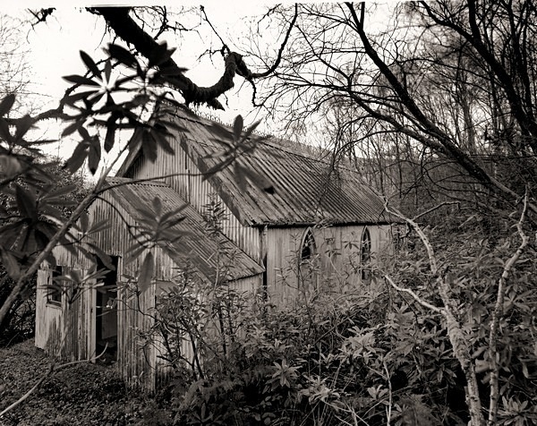 OLD SCHOOL HOUSE, Corris, Meirionydd 2012 - OTHER WELSH RUINS