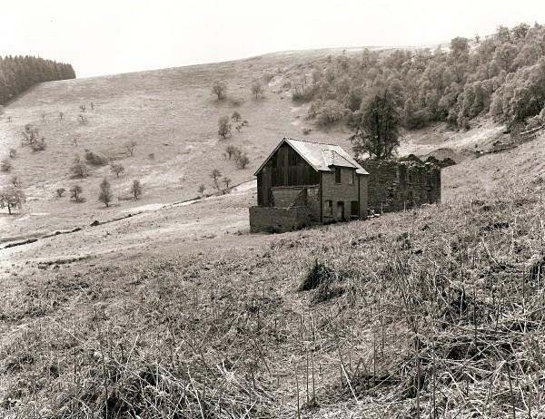 HOUSES & MINES at CWM ELAN MINE, Elan Valley, Rhayader, Radnorshire 20 - RADNORSHIRE (farmhouses)