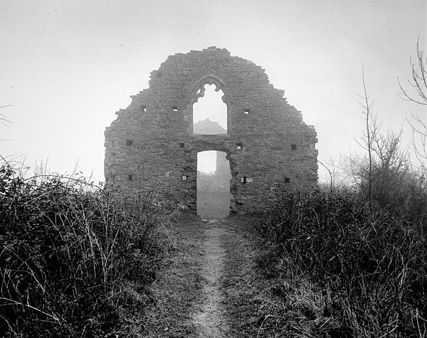 CAPEL MAIR CHAPEL, Margam Park, Port Talbot 2017 - OTHER WELSH RUINS