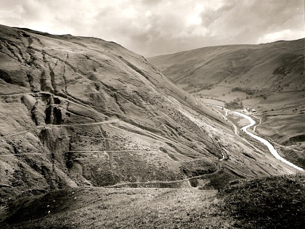 COPA HILL, Cwmystwyth Lead Mines 1993 - THE WELSH LANDSCAPE