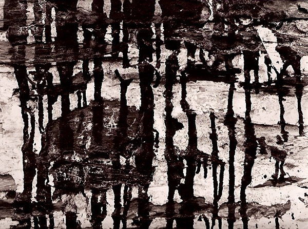 WALL, Cwmystwyth Mines, Ceredigion 1994 - ABSTRACTIONS