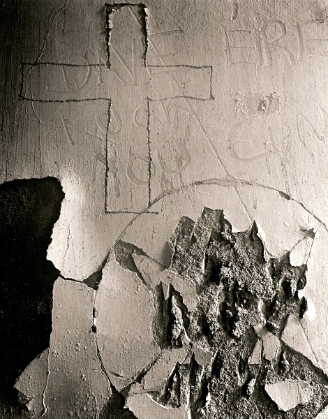 GREAT HALL, Aberglasney, Carmarthenshire 1995 - ABSTRACTIONS