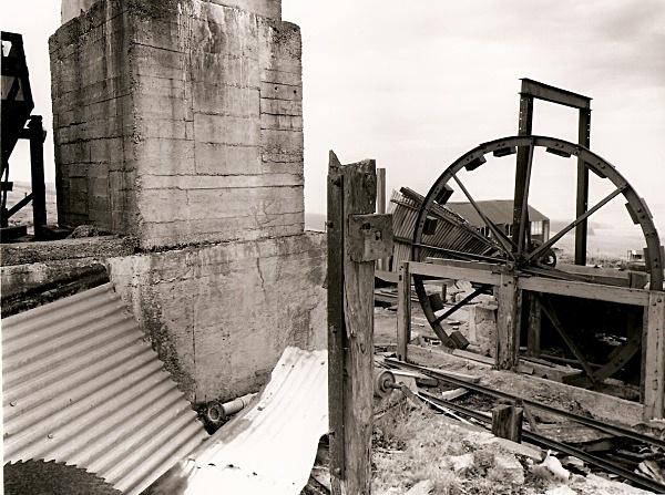 BANC ESGAIR MWYN, Ffair Rhos, Ceredigion 2009 - OTHER WELSH RUINS